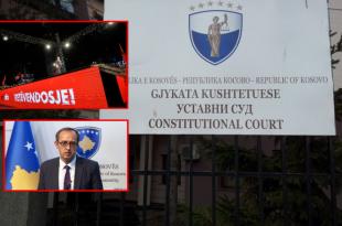 Gjykata Kushtetuese pritet që vendos sot për kërkesën e pezullimit të seancës për formimin e qeverisë Hoti