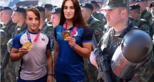 Xhudistet Distria Krasniqi dhe Nora Gjakova, do t'i bashkohen Forcave të Armatosura të Shqipërisë