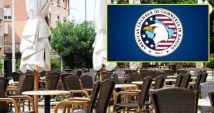 Oda Amerikane në Kosovë kërkon nga institucionet shtetërore lehtërisa për punën e sektorit të gastronomisë