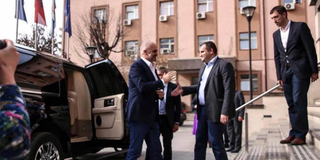 Kryetari i Prishtinës, Shpend Ahmeti, priti në takim, kryeministrin e Shqipërisë, Edi Rama