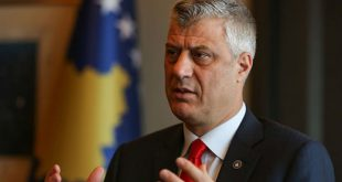Thaçi: Mendimet dhe lutjet tona janë për të dëmtuarit dhe familjet e viktimave në Bejrut të Libanit