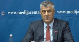 Thaçi: FSK nuk është kërcenim për paqen në rajon prandaj do të bëhet ushtri