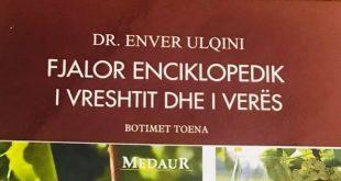 Prof. Dr. Lush SUSAJ: Në Shkodër, u promovua fjalori enciklopedik i Enver Ulqinit