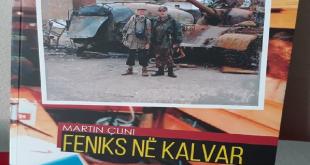 """Më 19 dhjetor 2019 në Drenas nën organizimin e OVL-UÇK-së promovohet libri """"Feniks në Kalvar""""i autorit, Martin Çuni"""