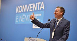 PDK sot e mban Konventën Festive, në Palestrën Sportive të Pallatit të Rinisë dhe Sporteve në Prishtinë