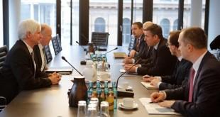 Kryekuvendari, Kadri Veseli takoi një grup deputetësh gjermanë të CDU-së