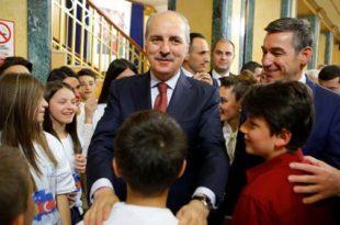Kryekuvendari Veseli, priti sot në takim zëvendës-kryeministrin e Turqisë, Numan Kurtulmush