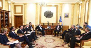 Kryekuvendari Kadri Veseli priti në takim sekretarin e OSBE-së, Lamberto Zanieri