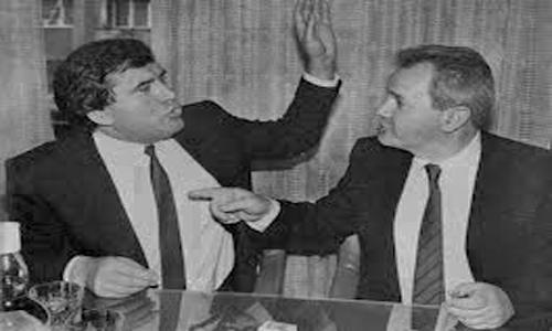 Azem Vllasi dhe Sllobodan Millosheviq