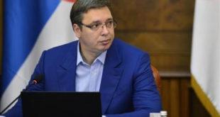 Kryetari serb, Vuçiq thotë Kosova mbetet njëra nga pengesat më të vështira për integrimin e Serbisë në BE