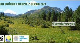 Sot është Dita Botërore e Mjedisit, 5. 6. 2020