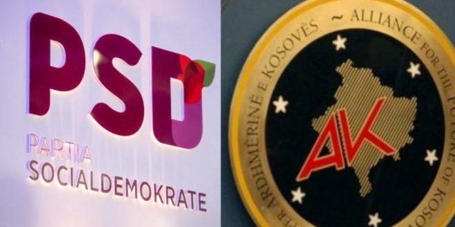 Koalicioni i përbashkët, (i djathtë i majtë), AAK-PSD, ka program për Kosovën 100 për qind