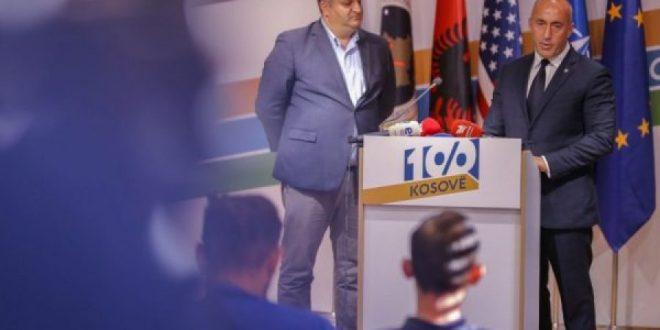 Koalicioni AAK-PSD thonë se janë renditur të parët sipas një sondazhi ndërkombëtar, të paidentifikuar