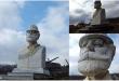 Busti i heroit kombit, Adem Jashari në Prekaz është dëmtuar dhe është në gjendje të rëndë, rrezikon të shkatërrohet