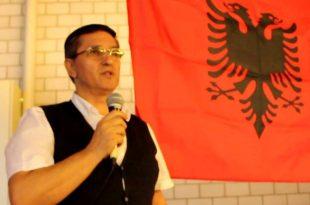 Doli nga shtypi libri: Për një atdhe të lirë e të bashkuar, i autorit, Agim Sylejmani