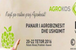 Sot në Prishtinë u hap edicioni i 16-të i Panairit të Ushqimit dhe Pijeve AGROKOS-2016