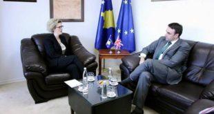 Mimoza Ahmetaj merr mbështetje nga O'Conell në rrugën drejtë integrimeve evropiane