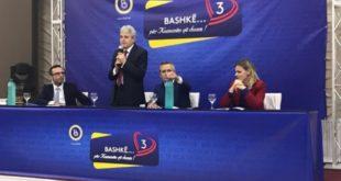 Kryetari i Bashkimit Demokratik për Integrim, Ali Ahmeti, ka marrë pjesë në tubimin zgjedhor të mbajtur në Shuto Orizarë