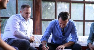 Në ditën e dytë të vizitës, në Prishtinë, Erian Veliaj dhe Shpend Ahmeti, mbajten një varg aktivitetesh të përbashkëta