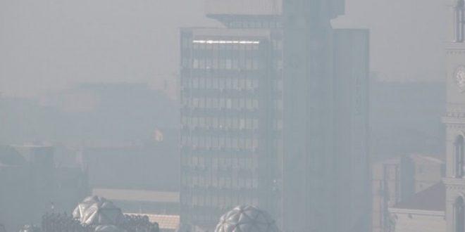 IKSHPK: Qyteti i Prishtinës është zhytur në smog që paraqet ndotje të kombinuar të ajrit me gazra dhe aerosole
