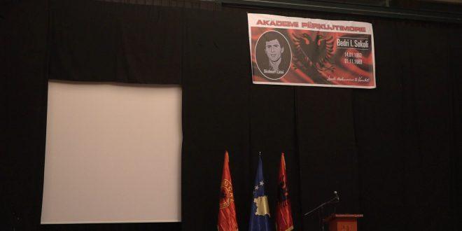 Sot në Prishtinë u mbajt Akademi përkujtimore për dëshmorin e kombit, Bedri Sokoli në 30-vjetorin e rënies