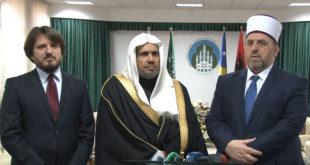 Myftiu i Kosovës, Naim Tërnava ka pritur në një takim, z. Muhamed bin Abdulkerim al Isa