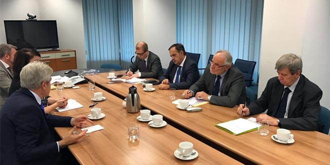 Ali Ahmeti pati takim pune me eurodeputet: Ivo Vajgll, Eduard Kukan dhe Knut Flenkenshtajn