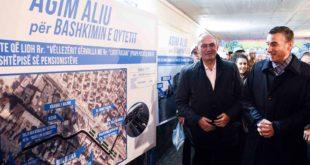 """Kadri Veseli dhe Agim Aliu kanë prezantuar projektin """"Bashkimi i Qytetit"""" për Ferizaj"""