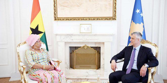 Ambasadorja e Shtetit të Ganës e ka demantuar Serbinë lidhur me njohjen e Pavarësisë së Kosovës