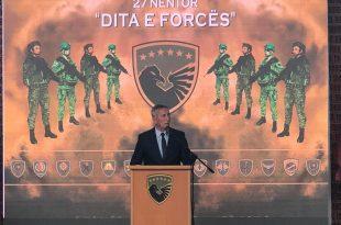 Ministri Quni: Përkundër sfidave Forca e Sigurisë së Kosovës ka arritur t'i përbush detyrat e saj në procesin transformues