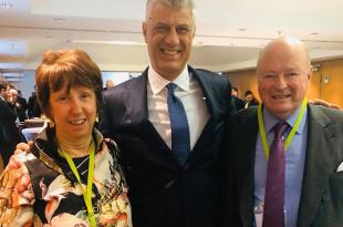 Kryetari i Kosovës, Hashim Thaçi takon ambasadorin Fran Wisner dhe baroneshën Catherine Ashton