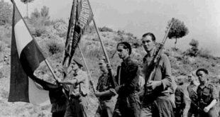 Asim Vokshi, komandant i brigadave vullnetare në luftë kundër fashizmit, në Spanjë