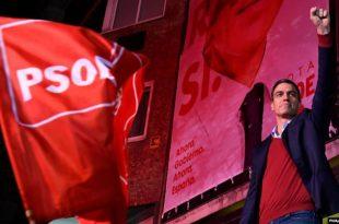 Socialistët që kanë qeverisur deri më tani në Spanjë, kanë fituar më së shumti vota në zgjedhjet e së dielës