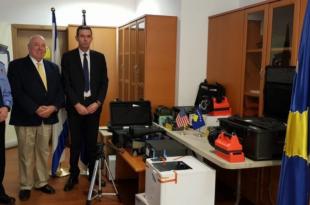 Dogana e Kosovës pranon një donacion në vlerë mbi 12 mijë euro pajisje për zbatim të Ligjit nga programi EXBS i SHBA-ve