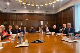 Thaçi: Roli i SHBA-së mbetet i pazëvendësueshëm në përpjekjet për të arritur paqe të qëndrueshme në Ballkanin Perëndimor