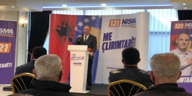 """Nisma Socialdemokrate: Motoja """"Me Çlirimtarët"""" ka marrë përkrahje në disa lagje të Drenasit dhe të Malishevës"""