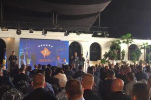 Në 20-vjetorin e themelimit të Policisë së Kosovës krerët e Shtetit e vlerësuan lartë punën e këtij institucioni