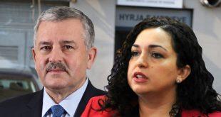 Agim Veliu thotë se ambasadorët janë ftuar më kërkesën LV-së, kurse Vjosa Osmani thotë më kërkesën e dy partive
