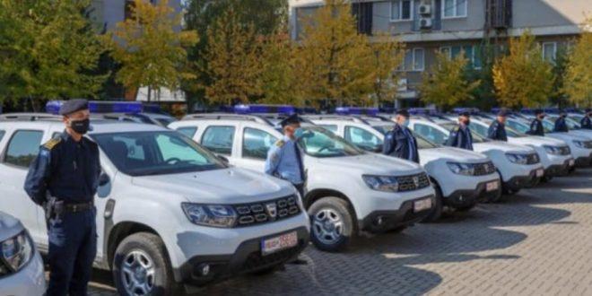 Policisë së Kosovës i janë shtuar sot edhe 15 vetura, donacion ky nga Policia Federale e Gjermanisë