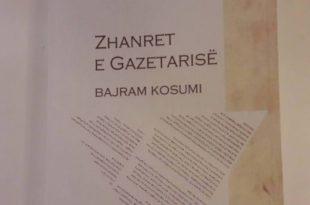 """Përurohet libri, """"Zhanret e gazetarisë"""", i autorit, Bajram Kosumi"""