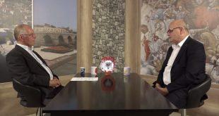 Bisedë në studion e TV-Diellit me ish të burgosurin politik, veprimtarin, shkrimtarin, luftëtarin e lirisë, Bedri Halimi