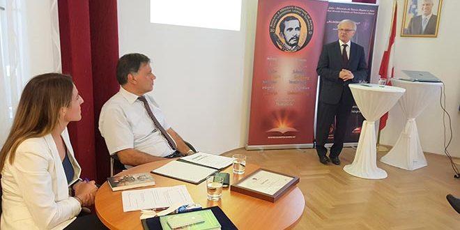 Besim Xhelili: Përurime të librave në Ambasadën e Kosovës në Vjenë
