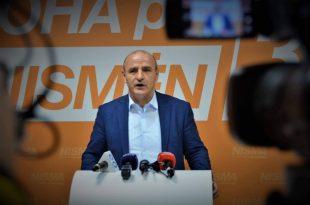 Bilall Sherifi thotë se koalicioni Nisma-AKR-PD e ka kaluar pragun zgjedhor dhe do të jetë pjesë e Kuvendit të ardhshëm