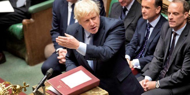Propozimi i kryeministrit britanik Boris Johnson që vendi të shkojë në zgjedhje të reja nuk përkrahet nga deputetët