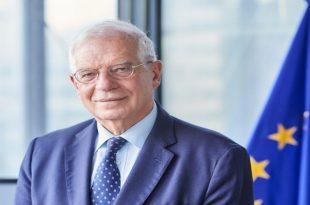 Borrell: BE-ja nuk mund të synojë të jetë faktor politik ndërkombëtar nëse nuk arrin ta zgjidhë çështjen e Kosovës