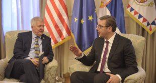 Scott: Kosova e Serbia të tregojnë fleksibilitet në arritjen e një zgjidhjeje që do t'i kontribuonte stabilitetit në rajon