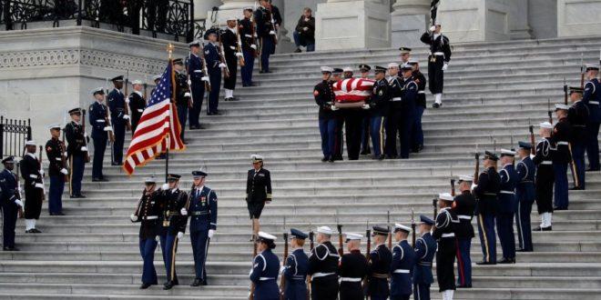 SHBA-të i dhanë lamtumirën të mërkurën ish-kryetatrit, George H.W. Bush me një funeral shtetëror në Uashington