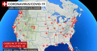 """Mbi 12 milionë njerëz në botë janë të infektuar me koronavirus, sipas të dhënave të Universitetit """"John Hopkins"""""""