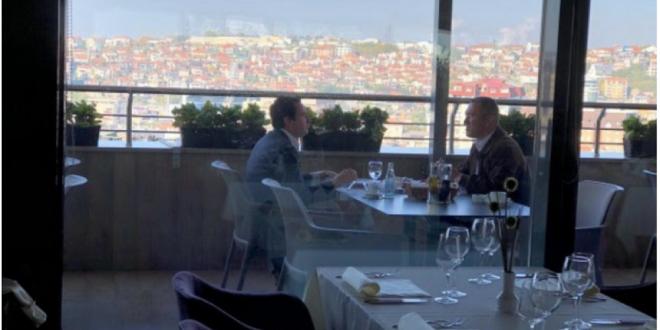 """Kryetari i Vetëvendosje, Albin Kurti bisedoi me përfaqësuesin e koalicionit serb, """"Liria """", z. Nenad Rashiq"""