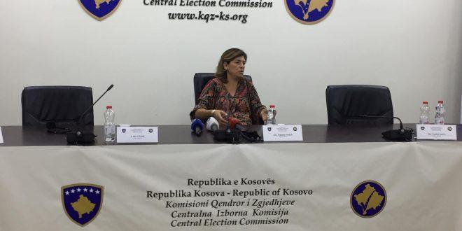 Organizatat e shoqërisë civile reagojnë lidhur me akuzat drejtuar Kryesueses së Komisionit Qendror të Zgjedhjeve, Valdete Daka